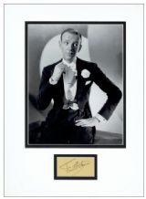 Fred Astaire Autograph Display